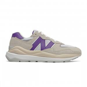 New Balance Men 57/40 M5740SB1 (gray / sea salt / prism purple)