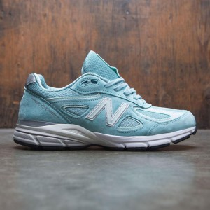 New Balance Men 990v4 M990MS4 - Made In USA (teal / mineral sage / seafoam)