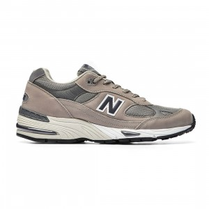 New Balance Men 991 M991ANI - Made In UK (gray / navy / white / emerald)