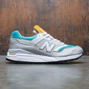 New Balance x Concepts Men 997.5 Esplanade M9975CN - Made In USA (gray / teal / white)