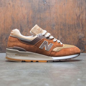 New Balance x J Crew Men 997 Butterscotch M997JC1 - Made In USA (brown / tan)