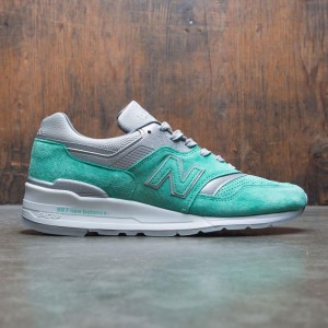 New Balance x Concepts Men 997 City Rivals New York M997NSY - Made In USA (teal / grey)
