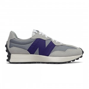 New Balance Men 327 MS327FC (gray / rain cloud / virtual violet)