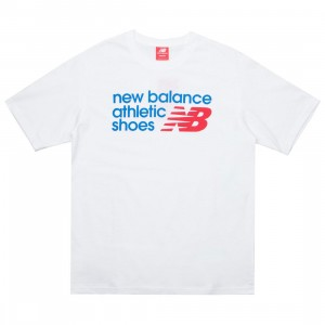 New Balance Men Essentials Normal Tee (white)
