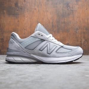 New Balance Women 990v5 W990GL5 Width D - Made In USA (gray / castlerock)