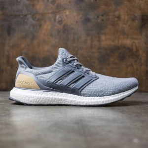 Adidas Men UltraBOOST LTD (gray / mid grey / linen khaki)