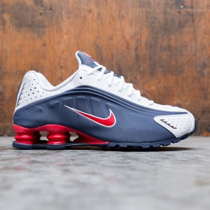 Nike Men Shox R4 (midnight navy / university red-white)