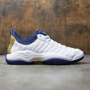 Nike Men Air Oscillate (white / metallic gold-binary blue)