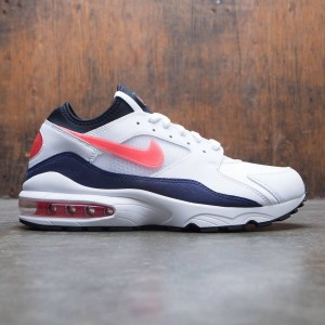 Nike Men Air Max '93 (white / habanero red-neutral indigo-black)