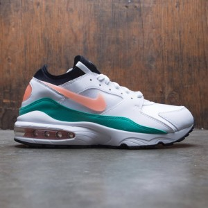 Nike Men Air Max 93 (white / crimson bliss-kinetic green-black)