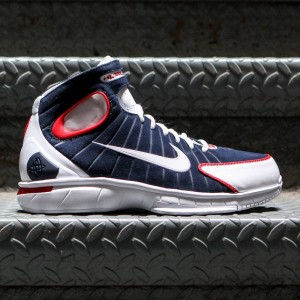 Nike Men Air Zoom Huarache 2K4  (midnight navy / university red / white / white)