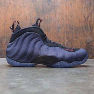 Nike Men Air Foamposite 1 (obsidian / black-university red)