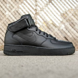 Nike Men Air Force 1 Mid 07 (black / black)