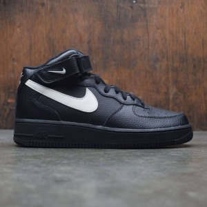 Nike Men Air Force 1 Mid 07 (black / sail)