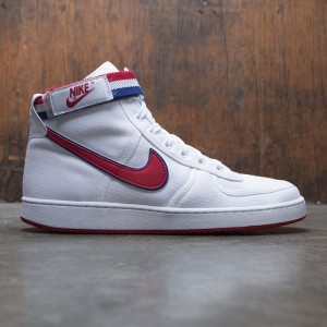 Nike Men Vandal High Supreme (white / gym red-deep royal blue-white)