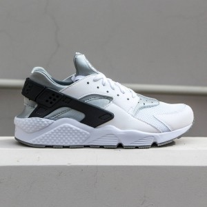 Nike Men Air Huarache (white / white-wolf grey-dark grey)