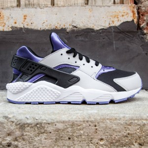 Nike Men Air Huarache (silver / persian violet / pure platinum / black)