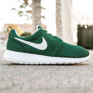 Nike Men Roshe One (green / white)