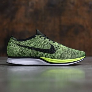 Nike Men Flyknit Racer (volt / black-sequoia)
