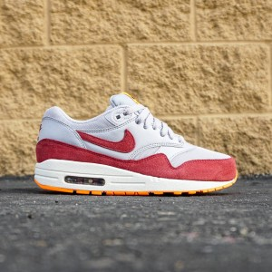 Nike Women Air Max 1 Essential (gray / team red / total orange / summit white)