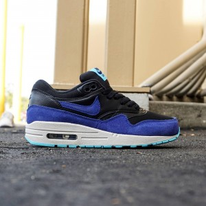 Nike Women Air Max 1 Essential (black / deep royal blue)