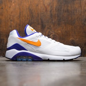 Nike Men Air Max 180 (white / bright ceramic-dark concord)