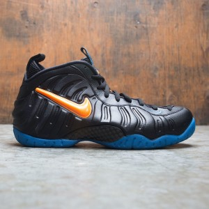 Nike Men Air Foamposite Pro (black / total orange-battle blue)