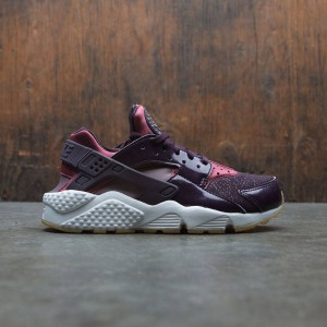 Nike Women Air Huarache Run (port wine / taupe grey-port-summit white)