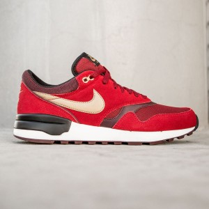 Nike Men Air Odyssey (red / gym red / metallic gold / team red)