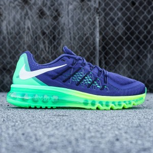 Nike Men Air Max 2015 (blue / royal blue / black / volt green)