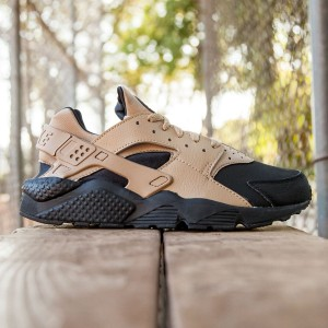 Nike Men Air Huarache Run PRM (black / desert camo)