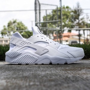 Nike Men Air Huarache Run Prm (white / black / white)