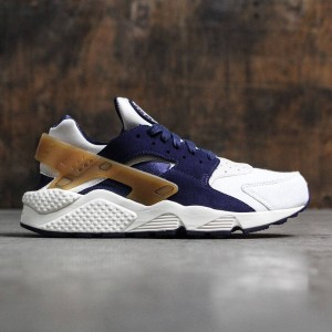 Nike Men Air Huarache Run Premium (sail / midnight navy-ale brown-pearl pink)