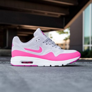 Nike Women Air Max 1 Ultra Moire (bleached lilac / white / pink blast)