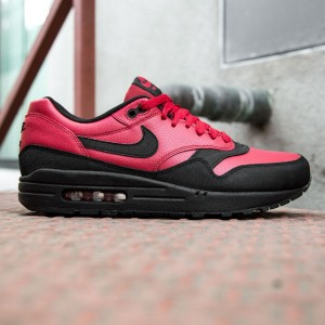 Nike Men Air Max 1 Leather Premium (red / gym red / black)