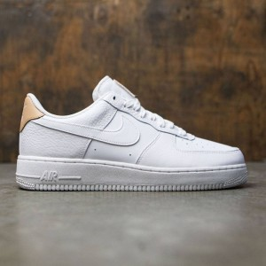Nike Men Air Force 1 Low 07 Lv8 (white / white-white-vachetta tan)