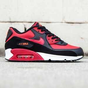 Nike Big Kids Air Max 90 LTR GS (red / gym red / bright crimson / noir)