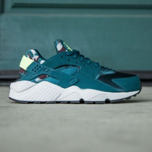 Nike Women Air Huarache Run Print (teal / ghost green)