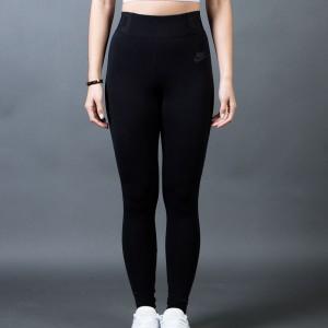 Nike Women Bonded Mesh Pants (black / black / black)