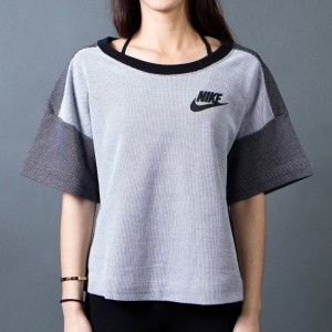 Nike Women Rally Plus Crew (white / black)