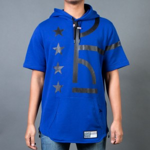 Nike Men Air Pivot V3 Hoodie (blue / deep royal blue / black)