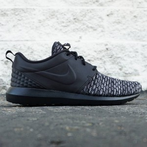 Nike Men Roshe NM Flyknit Premium (black / dark grey / white)