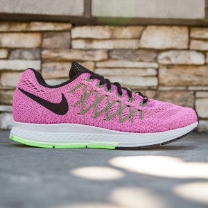 Nike Women Air Zoom Pegasus 32 (pink / pink power / black / barely violet / ghost green)