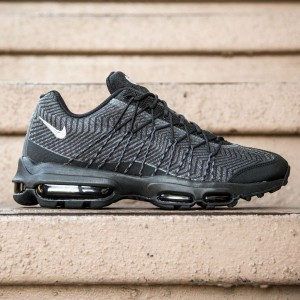 Nike Men Air Max 95 Ultra JCRD (black / silver / dark grey / white)