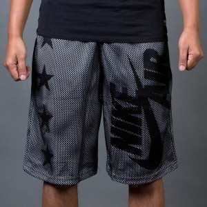 Nike Men Air Pivot V3 Mesh Shorts (black / white / black)