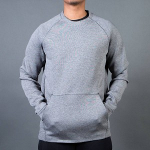 Nike Men Men'S Nike Sportswear Tech Fleece Crew (carbon heather / black)