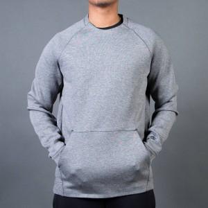 Nike Men Men'S Nike Sportswear Tech Fleece Crew (carbon heather / black)