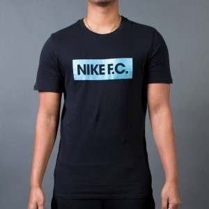 Nike Men F.C. Color Shift Block T-Shirt (black / black)