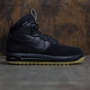 Nike Men Lunar Force 1 Duckboot (black / black-metallic silver-anthracite)