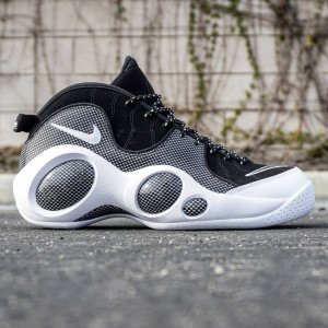 Nike Men Air Zoom Flight SE (black / white / metallic silver)